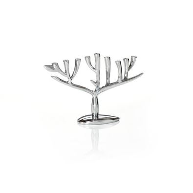 Nambe Tree of Life Menorah, Alloy - 13.5