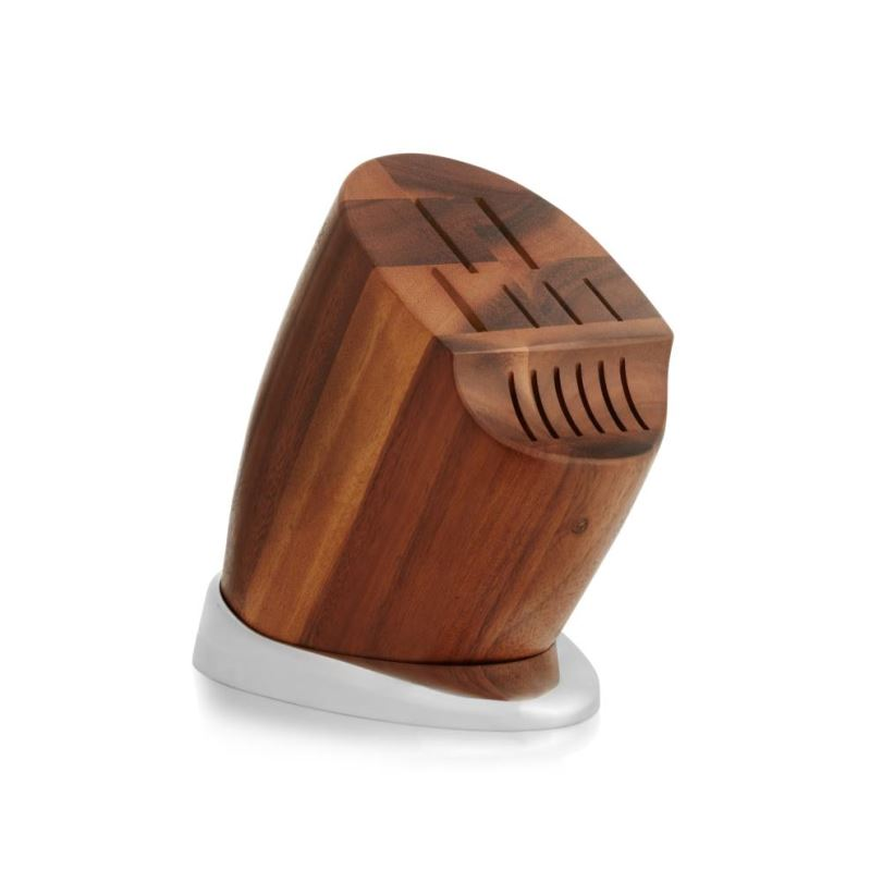 Nambe Breeze Knife Block  8.5