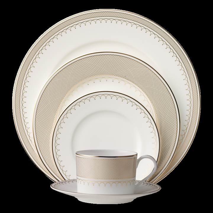 Nikko Lattice Gold Dinnerware