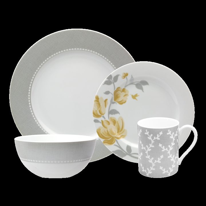 Nikko Fanciful Yellow Dinnerware