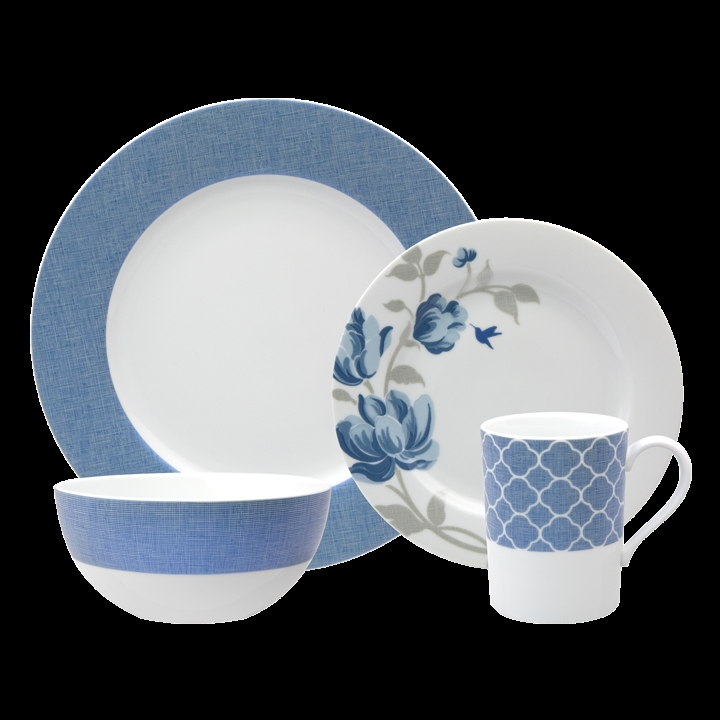 Nikko Fanciful Blue Dinnerware