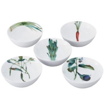 Noritake Kyoka Syunsai 5Pc Bowl Set,5 1/2 IN, 16Oz