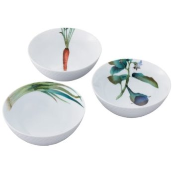 Noritake Kyoka Syunsai 3Pc Bowl Set, 5 1/2 IN,16Oz