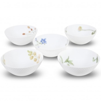 Noritake Azuma No Michi 5Pc Bowl Set,5 1/2 IN, 16Oz