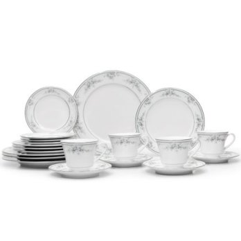 Noritake Sweet Leilani 20Pc Set W/B&B. Plate