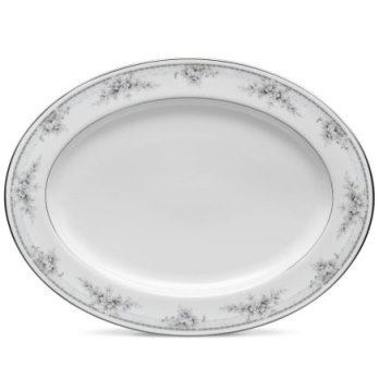 Noritake Sweet Leilani Oval Platter, 14 IN(Md)