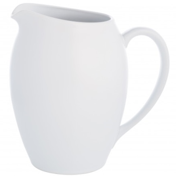 Noritake Colorwave White Pitcher