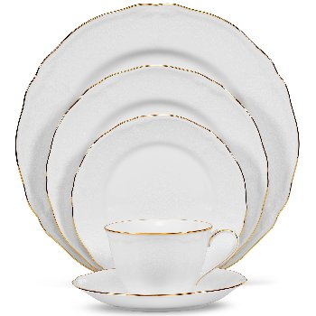 Noritake PRINCESS BOUQUET GOLD Dinnerware