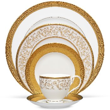 Noritake Summit Gold Dinnerware