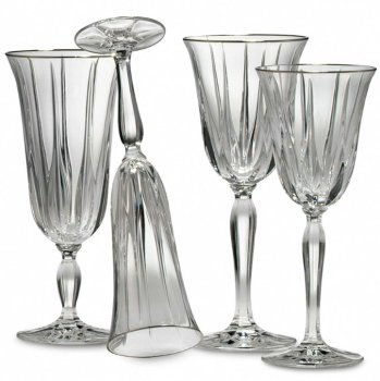 Noritake VENDOME PLATINUM Crystal