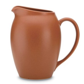 Noritake Colorwave Terra Cotta Pitcher
