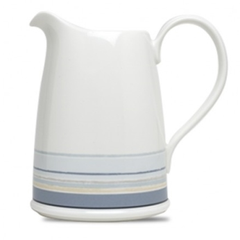 Noritake Java Graphite Swirl Pitcher 2 Qt.