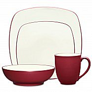 Noritake Colorwave Raspberry Dinnerware