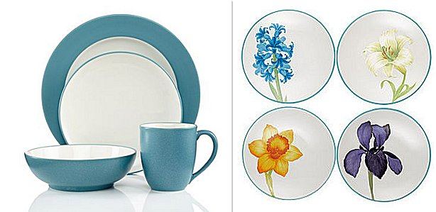 Noritake Colorwave Turquoise Dinnerware, Plates, China | ChinaRoyale