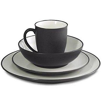 noritake colorwave graphite dinnerware - Noritake Colorwave