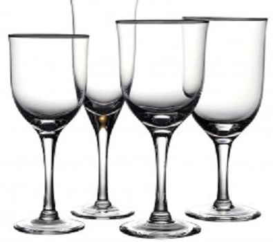Noritake Paris Glassware Crystal
