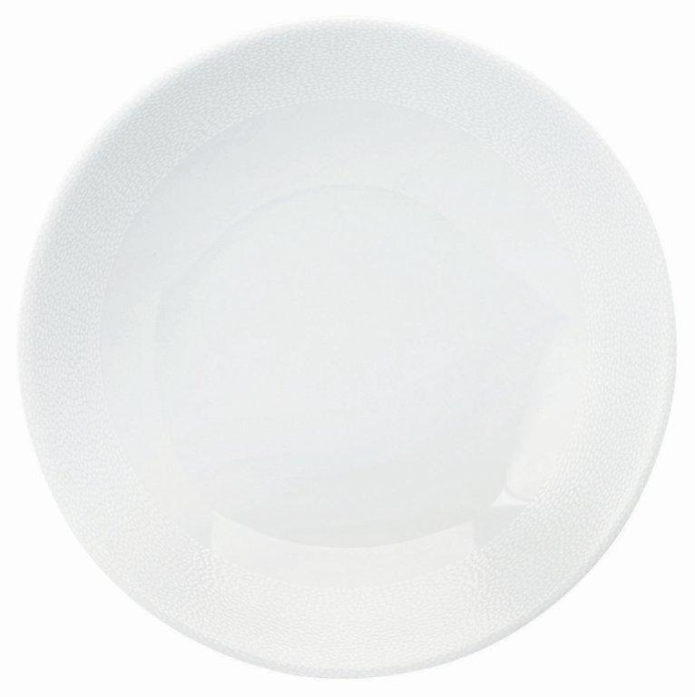 Philippe Deshoulieres Seychelles white deep cereal plate