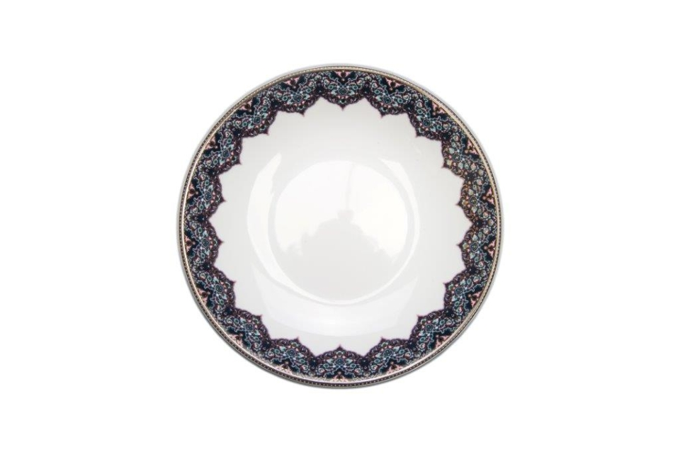 Philippe Deshoulieres Dhara Peacock soup/cereal plate