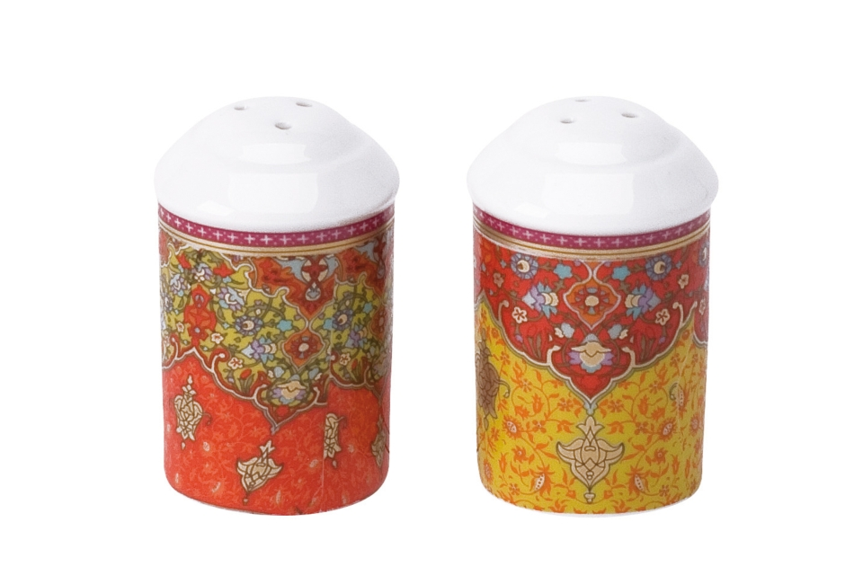 Philippe Deshoulieres Dhara red salt shaker