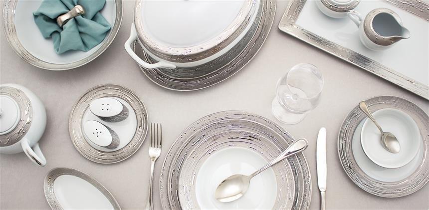 Porcel Argentatus Dinnerware | ChinaRoyale.com