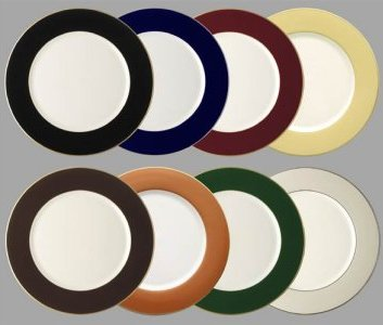 Pickard Charger Plates White