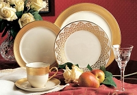 Pickard Centennial Ivory 3 Piece Place Setting