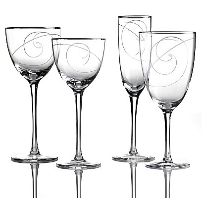 Noritake Platinum Wave Crystal