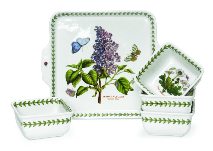 Portmeirion Botanic Garden 5pc Accent Bowl Set