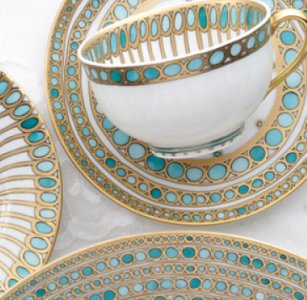 Robert Haviland SYRACUSE TURQUOISE Dinnerware