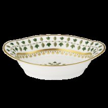 Robert Haviland MATIGNON GREEN Open Vegetable Bowl