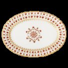 Robert Haviland MATIGNON RUST Oval Platter Large