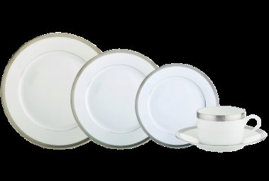 Robert Haviland MALMAISON PLATINUM Five Piece Place Setting