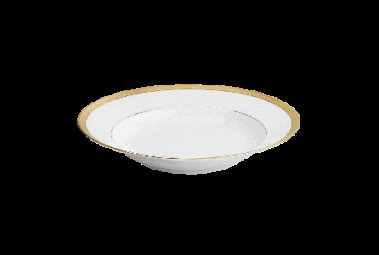 Robert Haviland MALMAISON GOLD Rim Soup Plate