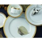 Robert Haviland MALMAISON GOLD Five Piece Place Setting