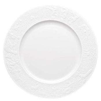 Rosenthal Magic Flute White Service Plate 12 inch