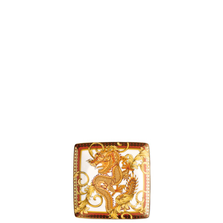 Versace Asian Dream 4 3/4 inch Canape Dish Porcelain, Square
