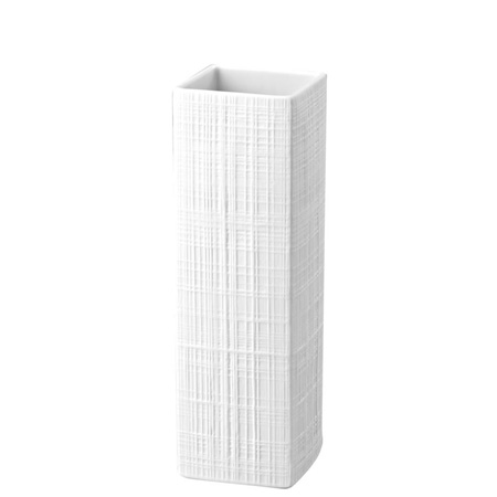 Rosenthal Structura Fabric Vase 10 2/3 inch, White