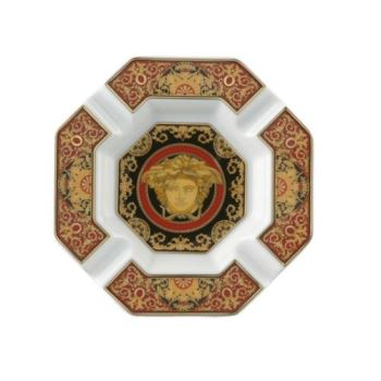 Versace Medusa Red Ashtray