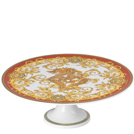 Versace Asian Dream 13 inch Footed Cake Plate