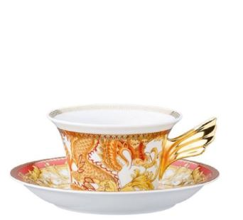 Versace 25 Years - Asian Dream Tea Cup & Saucer