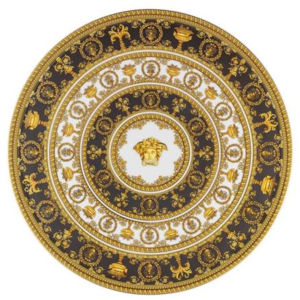 Versace I Love Baroque Footed Cake Plate