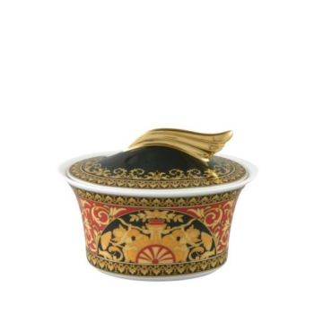 Versace Medusa Red Sugar Bowl CoveRed