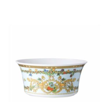 Versace Butterfly Garden Vegetable Bowl Open