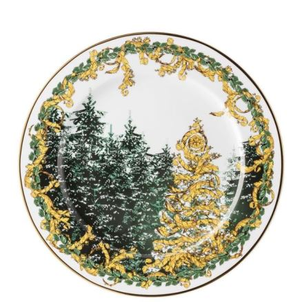 Versace A Winter's Night Christmas Plate