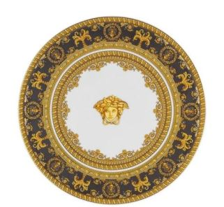 Versace I Love Baroque Footed Platter