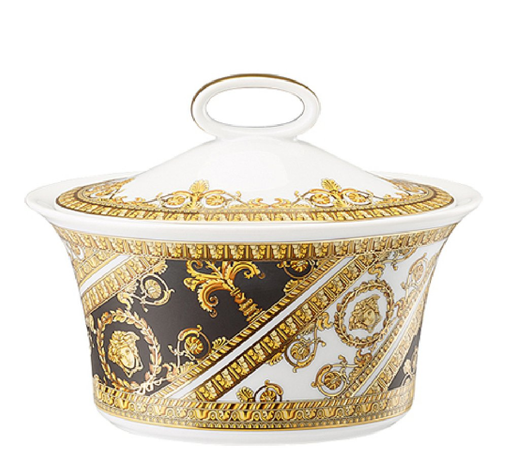 Versace I Love Baroque Sugar Bowl Covered