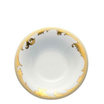 Versace Arabesque Gold Rim Soup