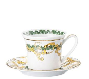 Versace A Winter's Night AD Cup & Saucer