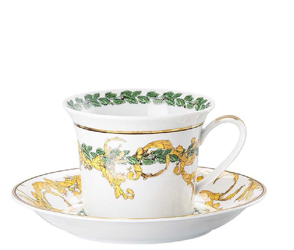 Versace A Winter's Night Cappuccino Cup & Saucer