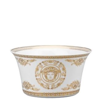 Versace Medusa Gala Vegetable Bowl Open